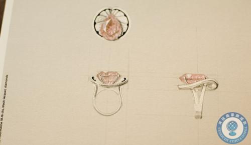 cartier系列戒指手绘图